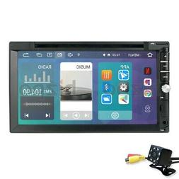 Android GPS Double Din Car Stereo Radio DVD MP3 Player Bluet