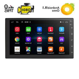 Android OS Car Stereo GPS Navigation Bluetooth Radio Player