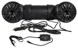 "New Boss ATV25B Dual 450W 6.5"" ATV/Marine Amplifed Waterproo"