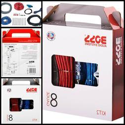 Audio 8Gauge Car Amplifier Installation Wiring Kit For Radio