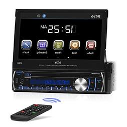 audio bv9986bi single din motorized