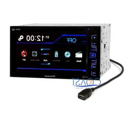 "Pioneer AVH-190DVD 6.2"" Touchscreen Double Din Car Radio MP3"
