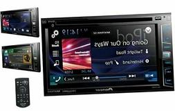 "AVH-X2800BS In-Dash DVD Receiver with 6.2"" Display, Bluetoot"
