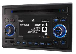 Dual Axxera Double 2 DIN AM FM CD Bluetooth USB HD SD iPhone