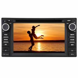 """Backup Camera + 8""""  2Din  Car Stereo GPS Navigation Radio DV"""