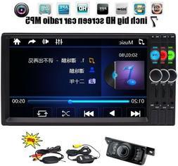 Eincar Backup Camera Double Din Car Stereo Radio DVD mp3 Pla