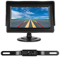iStrong Backup Camera System 4.3'' Monitor for Truck/Car/Pic