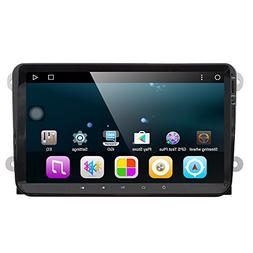 Android 7.1 Big 9 Inch 2 Din Car Stereo Video Receiver GPS R
