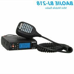 Mini Car Mobile Radio BJ-218 VHF/ UHF Dual-Band FM Transceiv