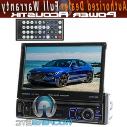 "BLUETOOTH 7"" TV TOUCH SCREEN DVD MP3 USB SD MP4 IPOD AUX CAR"
