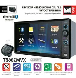 Bluetooth Car Auto Stere Reciever AM/FM Double Din Radio Aud