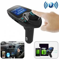 Bluetooth Car FM Transmitter Handsfree Wireless Radio With A