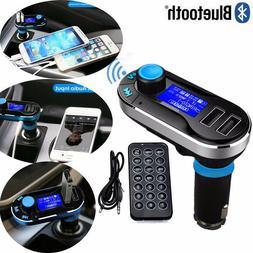 Bluetooth Car FM Transmitter MP3 Player Radio Adapter Kit Ch