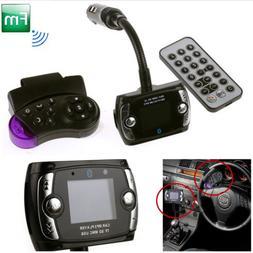Bluetooth Car Kit Radio Adapter Handsfree FM Transmitter for