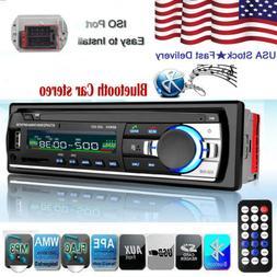 Bluetooth Car Radio  Audio  In-Dash  Built-in FM AUX headfre