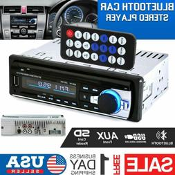 Bluetooth Car Stereo Audio Radio MP3 Player FM/SD/TF USB AUX