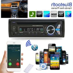 Bluetooth Car Stereo DVD CD MP3 Player 1 Din Radio In-Dash H