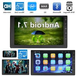 "Bluetooth Car Stereo Radio 2 DIN 7"" Touchscreen HD MP5 FM Pl"