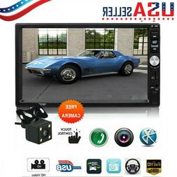 Bluetooth Car Stereo Radio 2DIN 7inch HD MP5/MP4 Player Touc
