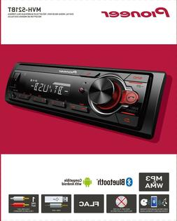 Pioneer Bluetooth Car Stereo Receiver AM/FM Auto Audio Syste