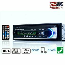 Bluetooth MP3 Radio Player Car Stereo Audio In-Dash FM Aux I