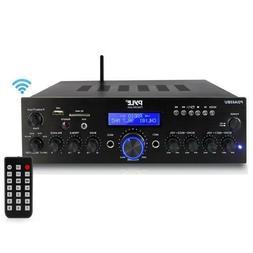 Pyle Bluetooth-Stereo-Amplifier-Receiver, MP3/USB/SD/AUX/FM