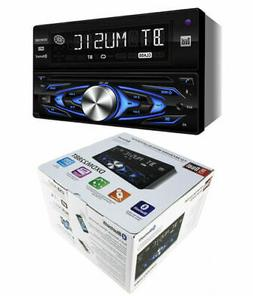 Bluetooth Stereo Double Din Car MP3 CD USB AUX-In AM/FM Radi