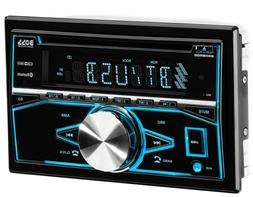 BOSS Audio 850BRGB Car Stereo - Double Din, Bluetooth, CD/MP