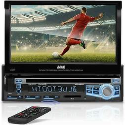 "BOSS Audio Car Stereo Single Din 7"" LCD Touchscreen Bluetoot"