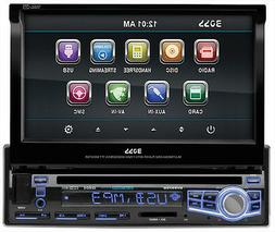 "Boss Bv9976b Car Dvd Player - 7"" Touchscreen Lcd - Single Di"