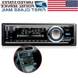 FM and MP3 Car Stereo Receiver with Bluetooth, USB Port and