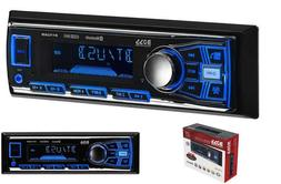 Boss Single Din USB SD AUX Radio Car Bluetooth Stereo Vehicl