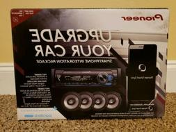 Brand New PIONEER Smart Sync Car Stereo with Speakers Bundle