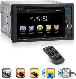 BOSS Audio BV9364B Car Stereo DVD Player – Double Din, New