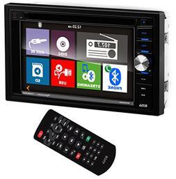 "BV9366B Car DVD Player - 6.2"" Touchscreen LCD - 16:9 - Doubl"