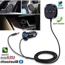For Car Auto Bluetooth Receiver Handsfree AUX MP3 Player Rad