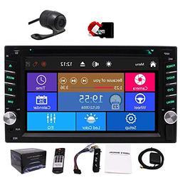Car Autoradio 2din GPS SAT Navigation Multi-Touchscreen Car