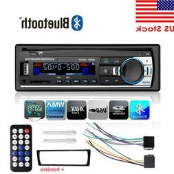 Car Bluetooth Stereo Radio FM In Dash Handsfree TF/USB AUX 1