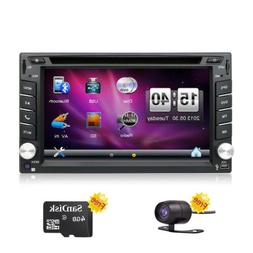 Car DVD Player Double 2DIN Car Stereo In Dash Auto Radio GPS