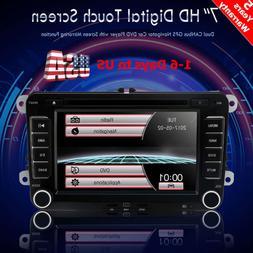Car GPS Navigation For VW Jetta Passat Tiguan DVD Player Rad