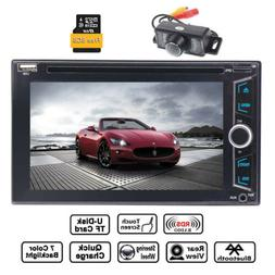 "Car Radio Double 2 Din DVD Player 6.2"" Car Stereo GPS Naviga"