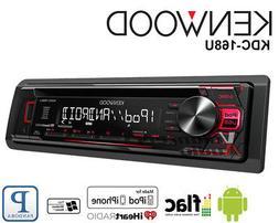 Kenwood Car Radio Stereo CD Player Pandora Iheart Radio 3 Ba