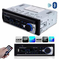 Car Radio Stereo Digital Media Player Mp3 Receiver W/Front U