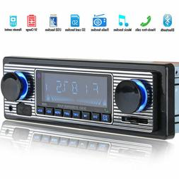 Car Radio Stereo Digital Media Player Mp3 Receiver With Fron