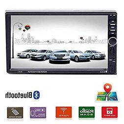 "Car Stereo - 2 Din Car Radio Multimedia GPS Navigaiton 7"" To"