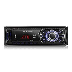 LESHP Car Stereo with Bluetooth,In-Dash Single Din Car Radio