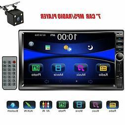 """Regetek Car Stereo Double Din 7"""" Touchscreen in Dash Stereo"""