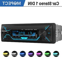 Car Stereo MP3 Player Bluetooth AUX USB TF FM Radio Audio In