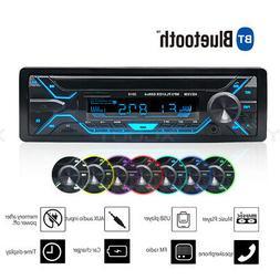 car stereo mp3 player bluetooth aux usb