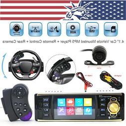 Car Stereo Mp5 Player Bluetooth Radio+ HD Rear Camera +Steer